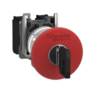 XB4BS9442 TRIGGER ACTION KEY RELEASE RED