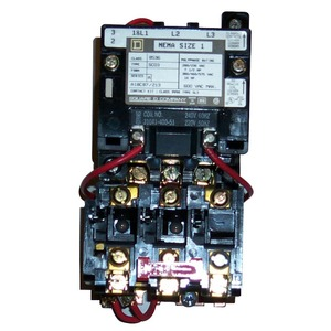 8536SCO4V02S STARTER 600VAC 27AMP NEMA +