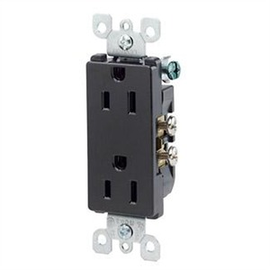 LEVITON MANUFACTURING OF CANADA 5325-E | 5325E BLACK DECORA