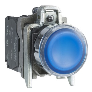 XB4BW36B5 ILLUMINATED PUSHBUTTON SWITCH