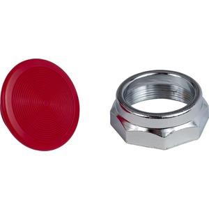 "9001K16R RED MUSHROOM KNOB 1.4"""