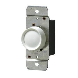6602-W TRIMATRON 1P ROT DIMMER INC WH