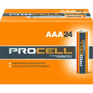PC2400BKD BATTERY ALKALINE AAA   DUR
