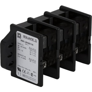 9080LBA362106 POWER DISTRIBUTION BLOCK