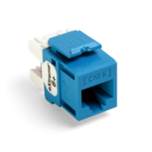 61110-RL6 Q/P CONNECTOR CAT 6 BLUE