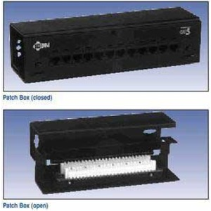AX100284 CAT5E PATCHPANEL 12P BLACK