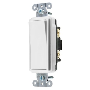 DS120W SWITCH 1P 20A 120-277V WHITE