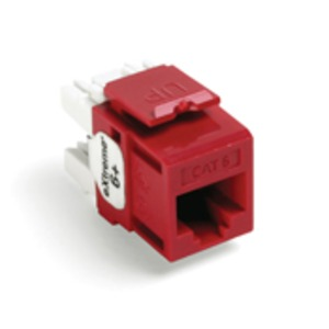 61110-RC6 Q/P CONNEC/R C6 CRIMSON RED