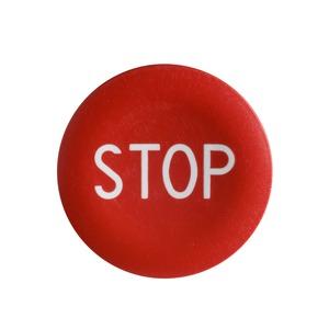 ZBA434 RED'STOP'CAP FOR ZB4BA0 OP.