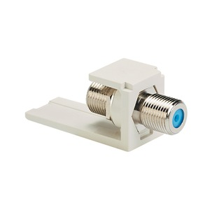 NKFWH NETKEY F-TYPE COUPLER WHITE