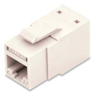 RV6MJKUEW-B24 REV CAT6 JACK WHT BULK