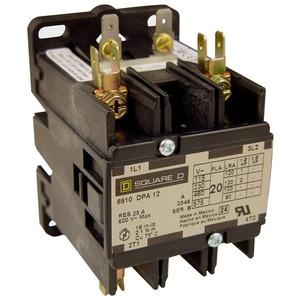8910DPA23V09 DP CONTACTR 25A3P 208/240V