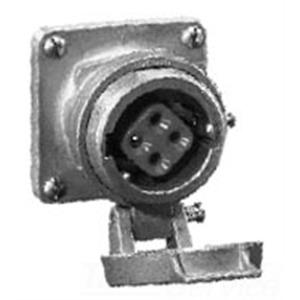 AR341 REC HSG 4W4P30A C/W SPRG DR & CAP