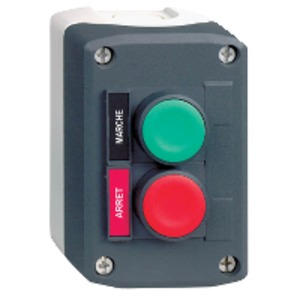 XALD211H7 2 BUTTON CONTROL STATION