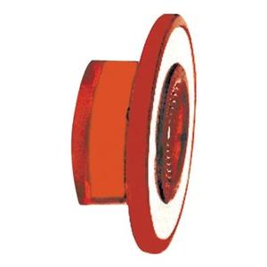 9001R22  RED PUSH-PULL KNOB