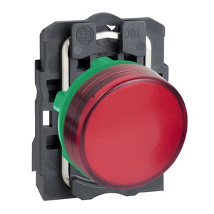 XB5AVG4 PILOT LIGHT 110-120V - RED LED