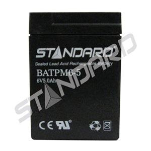 BATTERY/6V/5AH/0.188/TABS (57338)
