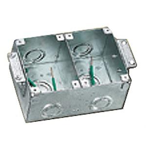 Hubbell B2482 B2482 2 G Rect Stl Wood Fb Semi Adj Nedco