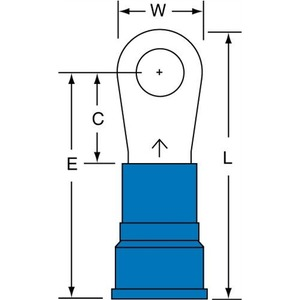 MN6-14R/SK RING TERMINAL