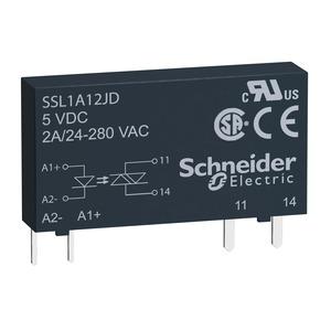 SSL1A12JD SLIM SSR 2A@24-280VAC3-12VDC