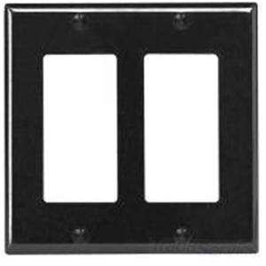 80409-E  EBONY 2G DECORA PLATE