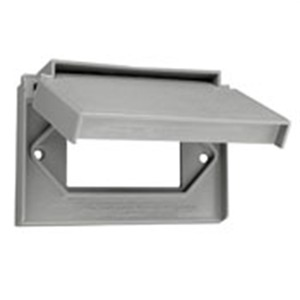 4996-GY GFI COVER