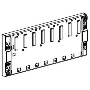TSXRKY8 8 SLOT STANDARD RACK WITHOUT CON