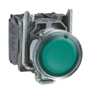 XB4BW33G5 ILLUMINATED PUSHBUTTON SWITCH