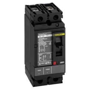 HDA36150 3P 600V 150A I-LINE MCCB