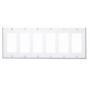 80436-W WHITE 6G DECORA PLATE