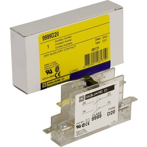 9999D20 AUXILIARY CONTACT FOR CONTACTORS