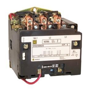 8502SDO2V02S CONTACTOR 3PH 45A
