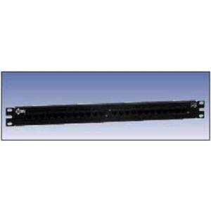 AX103260 24P CAT5E BIX P-PANEL BLK