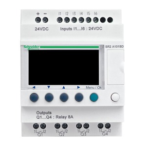 SR2A101BD ZELIO2CPCTNOCLOCK10I/O24DC