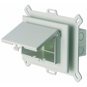 DBHS1W WHITE IN USE SIDING BOX HORIZONTL