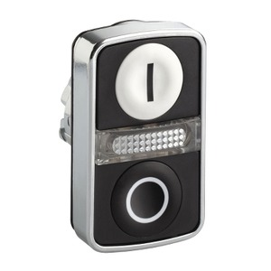 ZB4BW7A1721 METAL DBL HEADED PUSHBUTTONS