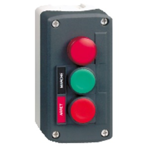XALD363GH7 CNTRL STN C/W LED PILOT