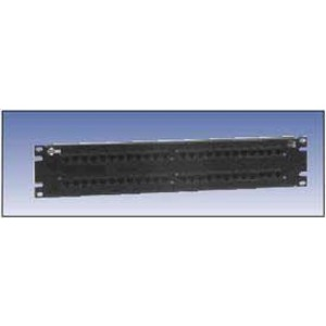 AX103261 48P CAT5E BIX P-PANEL BLK