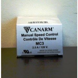 MC-3 SPEED CONTROL 2 FANS