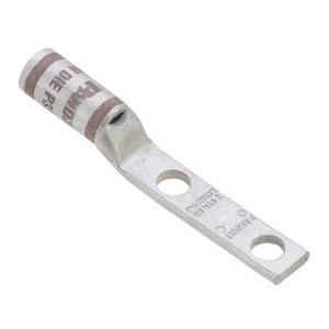 LCDN2-14A-Q 2 HOLE BARREL 2AWG 1/4IN