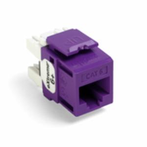 61110-RP6 Q/P CONNECTOR CAT 6 PURPLE
