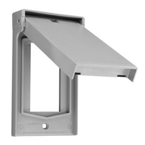 4998-GY VERTICAL WPF COVER DEC 1G GRAY