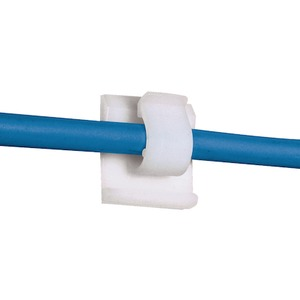 ACC19-A-C ADHES.CABLE TIE CLIP (PKG 100)