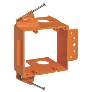 SC200A 2 GANG LOW VOLTAGE BRACKET