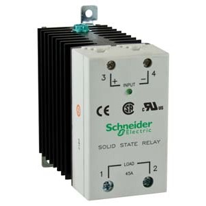 SSRDCDS45A1 SS RELAY DIN MNT 280VAC 45