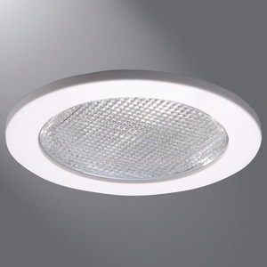 "4055WH 4"" WHITE SHOWER TRIM/LENS"