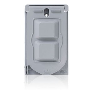 0WM1V-GY METAL WEATHERPROOF COVER