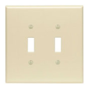 86109 OVERSIZED 2 GANG SWITCH PLATE
