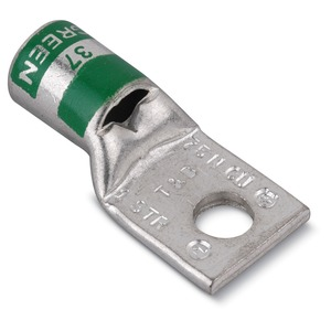 54108 1/4 GREEN 1-HOLE LUG