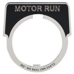 9001KN236 NAMEPLATE ENGRAVED:   MOTOR  R